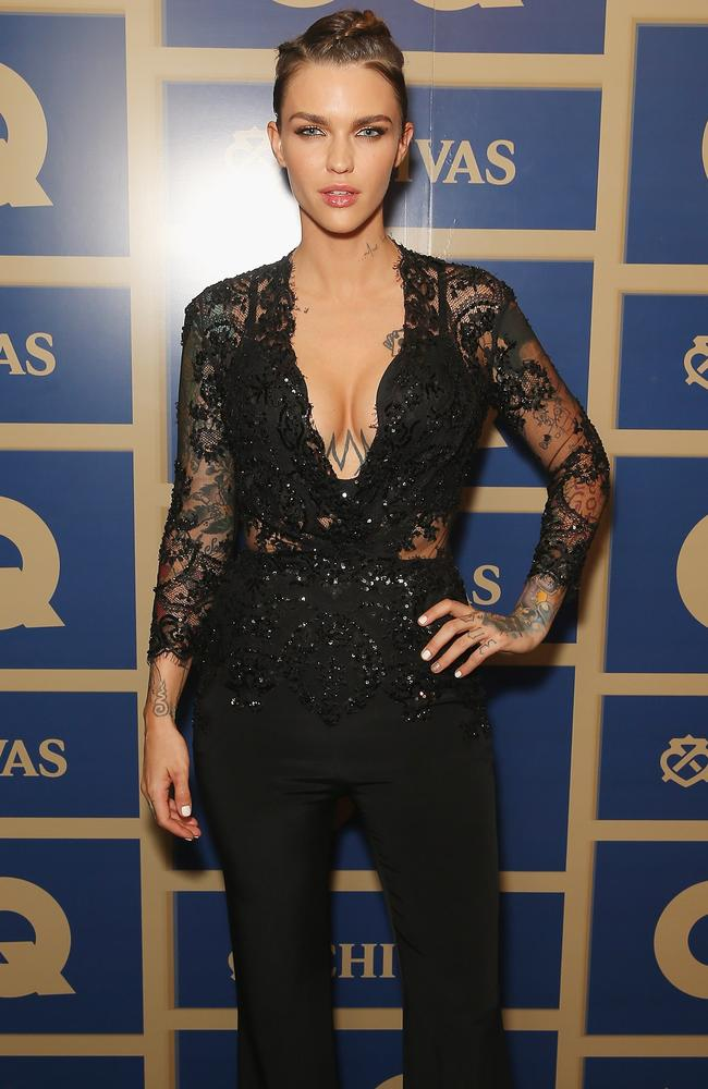 Ruby Rose is hot property in Hollywood — and make-up. Picture: Don Arnold/WireImage