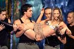 <p>Singer Jennifer Lopez performs at the 1999 Billboard Music Awards show at the MGM Grand Hotel in Las Vegas.</p>