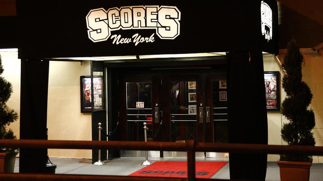 New York gentlemen's strip club Scores was where a gang of stealing strippers worked and where Kevin Rudd was caught leaving in 2007.