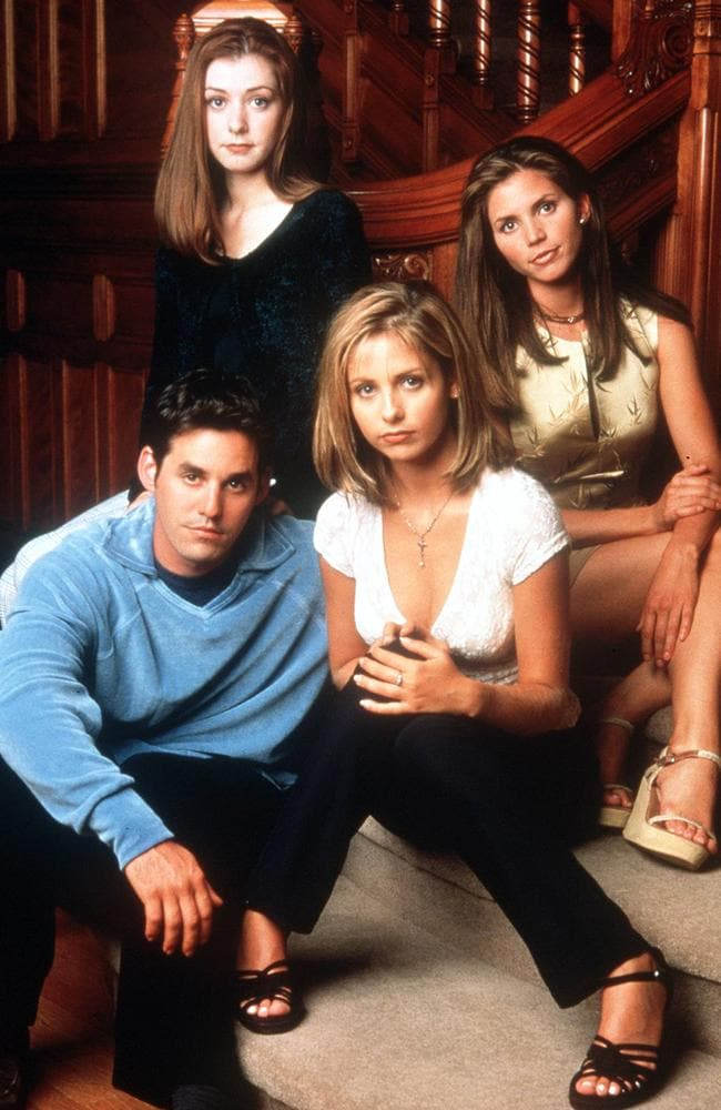 The cast of Buffy.