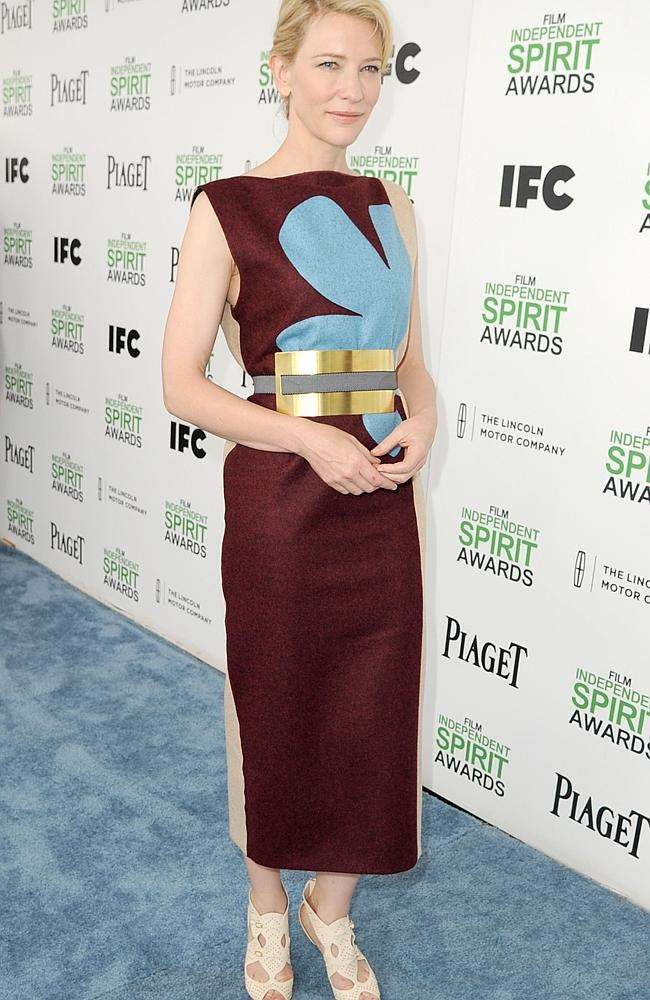 Cate Blanchett's fashion choice last night was not one of her best.