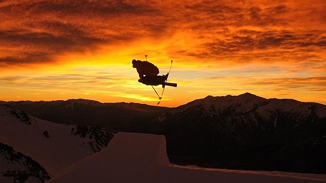 Sunset at Porters. Does life get any better? Picture: Supplied