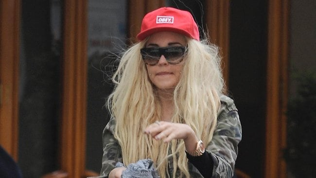 Amanda Bynes has slammed Rihanna on Twitter, saying Chris Brown assaulted her because she wasn't pretty enough. Picture: Supplied
