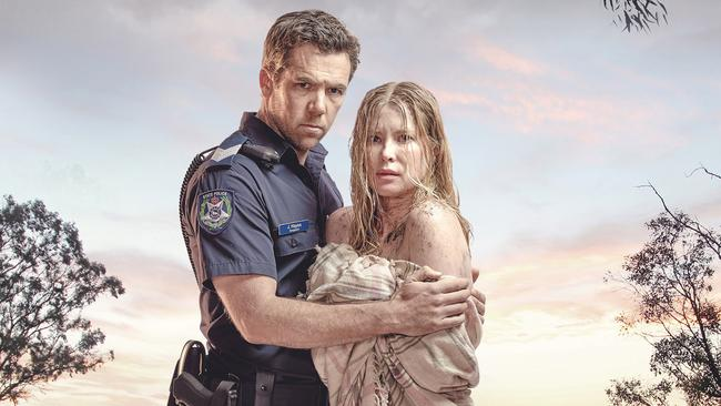 ABC drama Glitch: Emma Booth crawled nude from a real grave