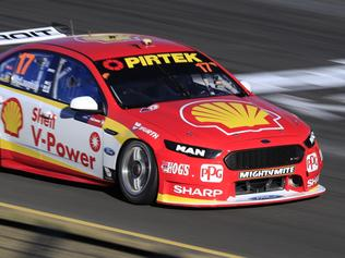 Scott McLaughlin. Supercars Practice 2. 2017 Red Rooster Sydney SuperSprint. Pic: Mark Horsburgh