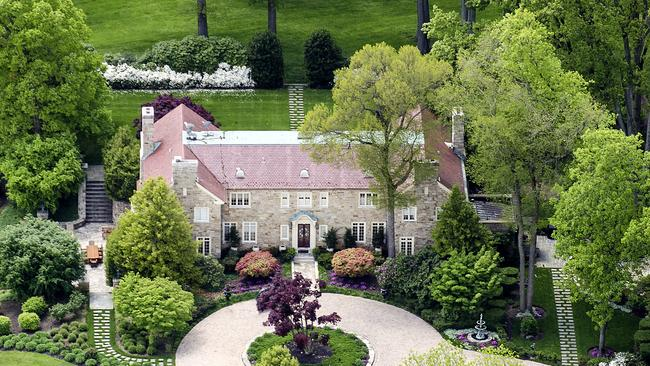 Folly Quarter Manor in Maryland in the US. Picture: Christie's International Real Estate.