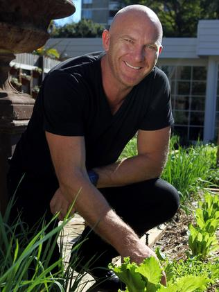 Chef Matt Moran grows his own produce for his restaurant Chiswick.