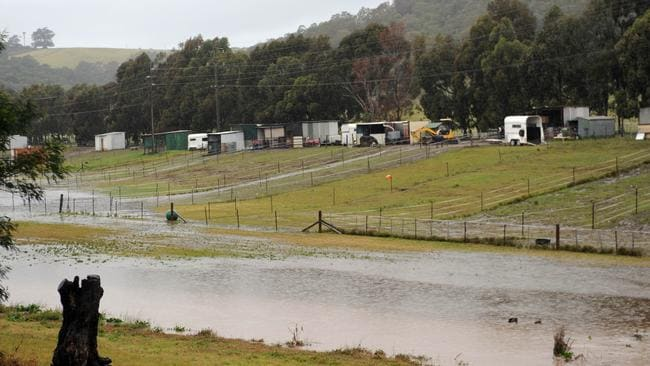 Flash flooding in the Illawarra region where SES carried out five rescues yesterday.