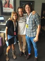 "The 2016 ARIA Awards via social media ... Kasey Chambers with Ben Lee and Bernard Fanning, ""Aria day..... Good times ahead...."" Picture: Instagram"