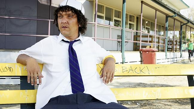 Youth appeal ... actor Chris Lilley as Jonah in ABC TV show Summer Heights High. The ABC will screen a new series in 2014 centred around Jonah.