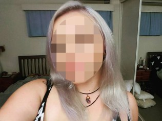 PICTURE MUST BE PIXELATED - LEGAL WARNING CANNOT IDENTIFY A facebook picture of the backpacker victim from the Mitchell case