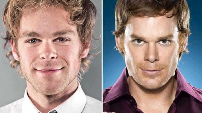 This guy looks exactly like Michael C. Hall. Couldn't think of a bad pun, sorry.