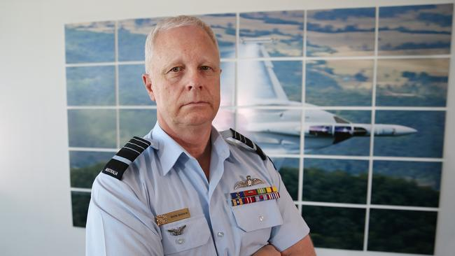 The Chief of the Defence Force Air Chief Marshal Mark Binskin. Picture: Gary Ramage.