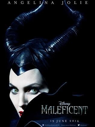 The first poster for Angelina Jolie's movie Maleficent.