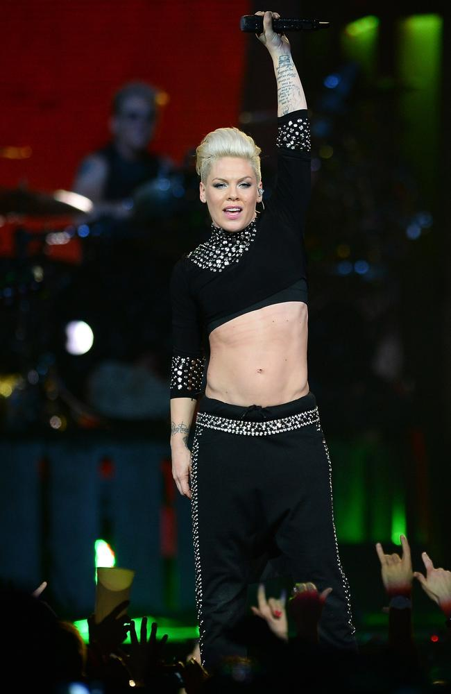 Pink is the biggest female box office star to tour Australia.