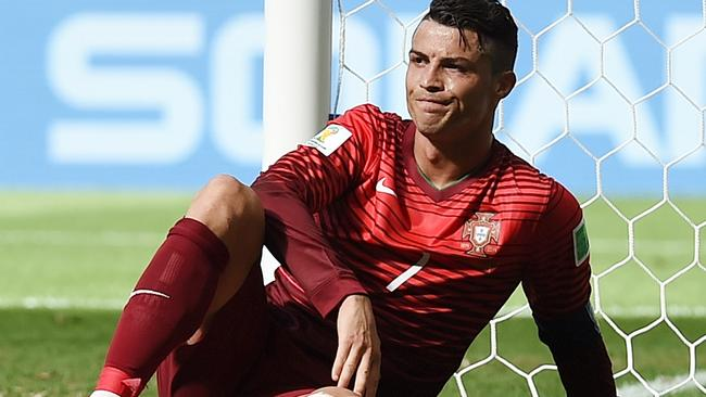 It was a frustrating tournament for Cristiano Ronaldo