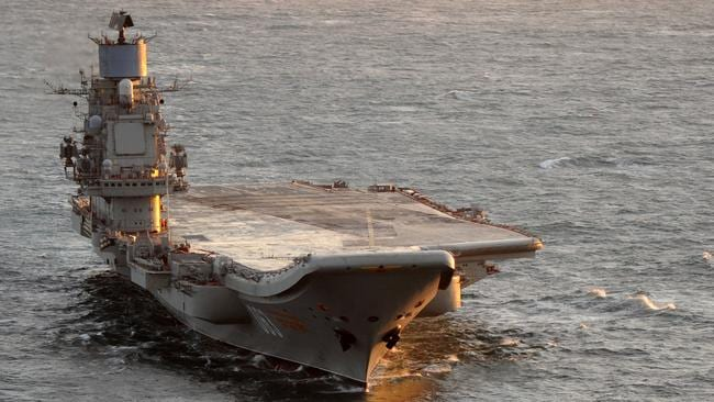 the russian aircraft carrier admiral kuznetsov russian government newsagency tass says the ship and her aircraft will be deployed to assis syrian president