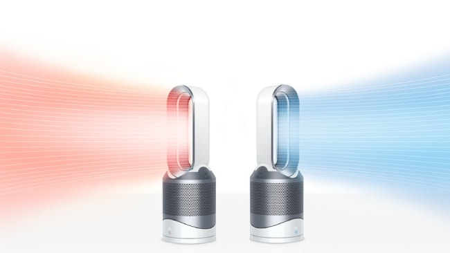 Hot or cool, the options are endless. Photo: Dyson