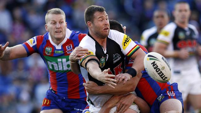 Trent Merrin returns from a knee injury to face the Raiders