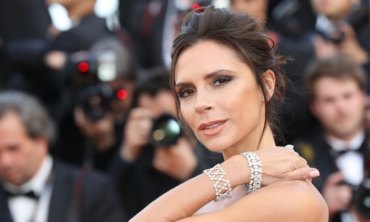 Victoria Beckham's birthday cake has caused a curious level of concern