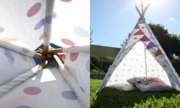 Make your own tee pee
