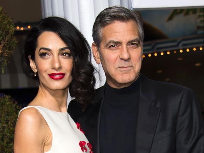 Amal has faced sexual harassment. Picture: AFP Photo/Valerie Macon