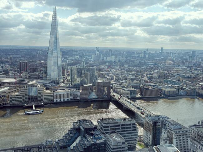 The Shard building in London is the tallest in the United Kingdom. Picture: iStock.