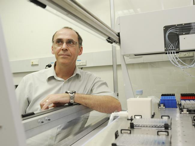 Protein breakthrough ... Professor Phil Robinson at the Children's Medical Research Institute. Picture: John Appleyard