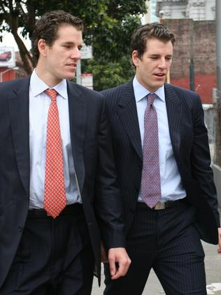The Winklevoss twins want a piece of the pie.
