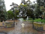 A flooded Tabernacle Cemetery, Encounter Bay. Picture: Greg Higgs
