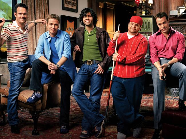 <i>Entourage</i> stars Kevin Dillon, Jerry Ferrara, Adrian Grenier, Kevin Connolly and Jeremy Piven.