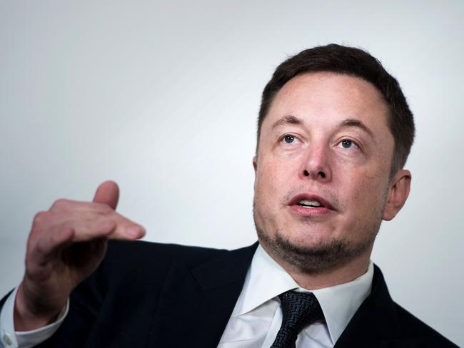 Elon Musk, CEO of SpaceX and Tesla, during the International Space Station Research and Development Conference at the Omni Shoreham Hotel in Washington, DC. Picture: Brendan Smialowski