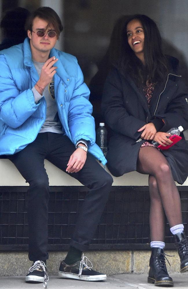 Malia Obama steps out with her alleged British boyfriend