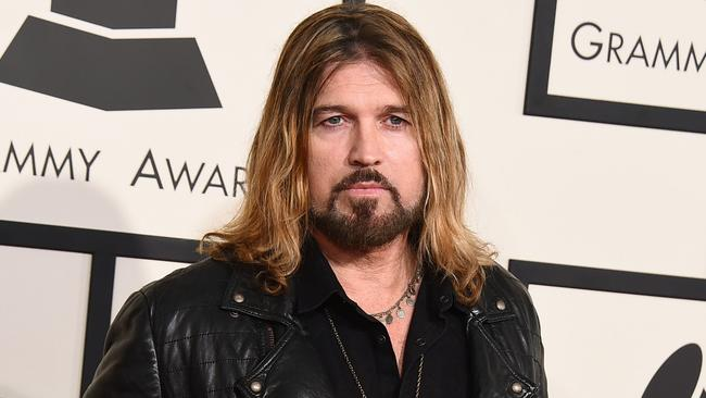 Miley's dad ... a bearded Billy Ray Cyrus. Picture: Jordan Strauss/Invision/AP