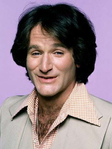 "MORK AND MINDY 9/14/78, The character of Mork, an alien from the planet of Ork, became so popular from an episode of ""Happy Days"" that it was spun-off into this series starring Robin Williams in the lead role (his first major acting break). The misfit alien was sent to study Earthlings by his fellow Orkans. Landing in a giant eggshell, near Boulder, Colorado, he was befriended by Mindy McConnell, who helped him adjust to Earth's strange ways. Picture: Getty"