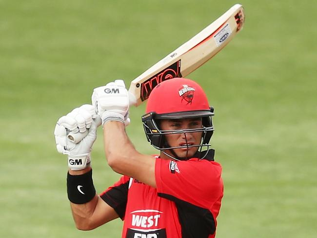 HOBART, AUSTRALIA - OCTOBER 19:  Jake Weatherald of the Redbacks bats during the JLT One Day Cup match between South Australia and Victoria at Blundstone Arena on October 19, 2017 in Hobart, Australia.  (Photo by Matt King/Getty Images)