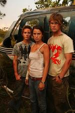 <p>Jason Smith, Jodi Gordon and Chris Hemsworth in a scene from the television show Home And Away.</p>