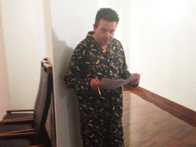 Senator Nick Xenophon tried was kicked out of the Senate chamber for wearing his PJs. Picture: Francis Keany/ABC