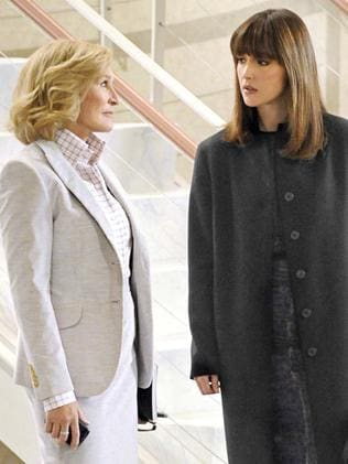 Big role ... Rose Byrne and Glenn Close are still good friends after hating each other for years on screen in Damages. Picture: AP