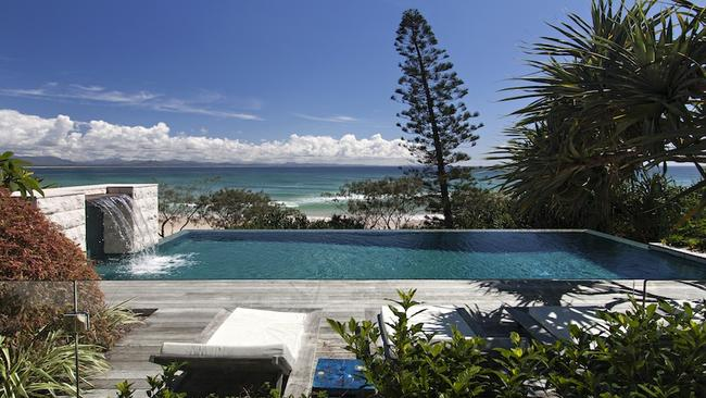 Enjoy the views from this Marine Pde house in Byron Bay for $30,000 a week. Picture: Byron Bay Luxury Homes.