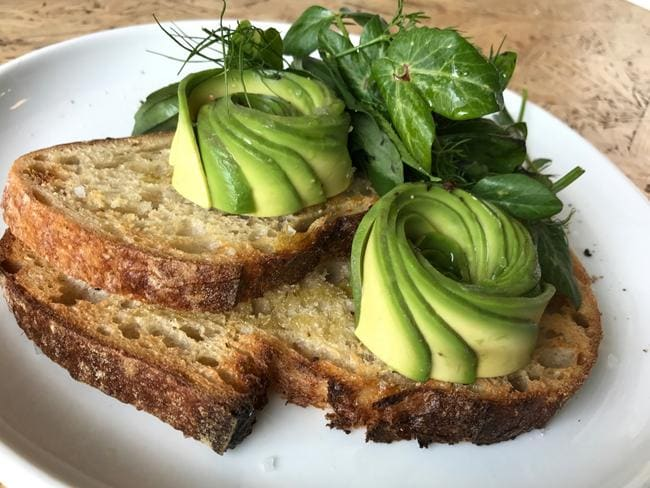 Pop an avocado and some wholegrain bread in the fridge at work if you're regularly eating breakfast at your office.