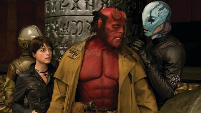 Selma Blair never got to save Ron Perlman in Hellboy 3.