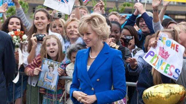 Naomi Watts in a scene from film DIANA. Picture: Becker Supplied