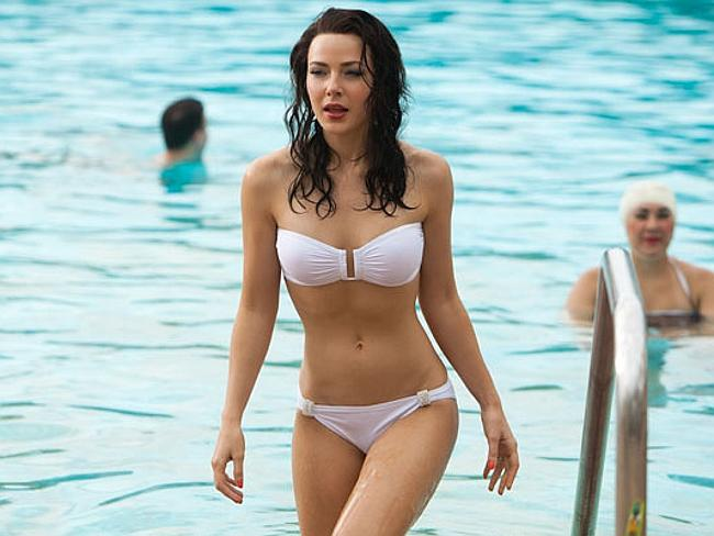 Hit and miss ... Jessica Marais in a scene from the show Magic City, which is now axed. Picture: Supplied