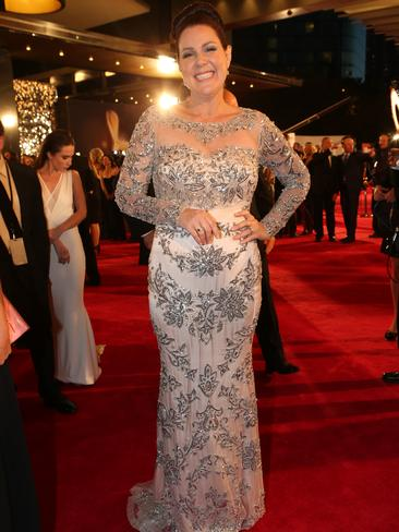 Julia Morris at the 2014 Logies.