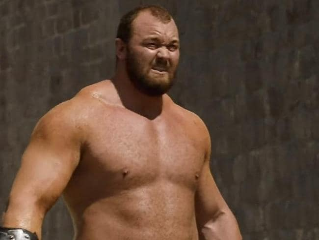 Gregor Clegane. What a beast.