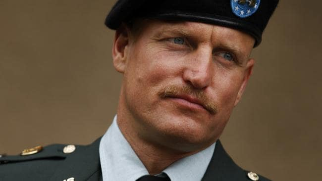 Woody Harrelson in a scene from film The Messenger.