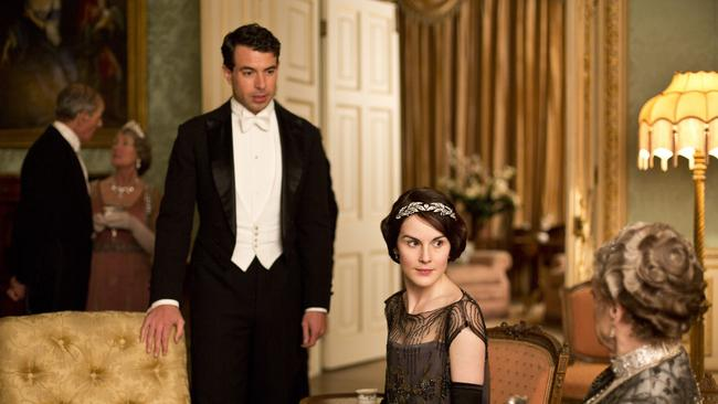 Downton Abbey. Everyone is still very polite. Picture: Supplied
