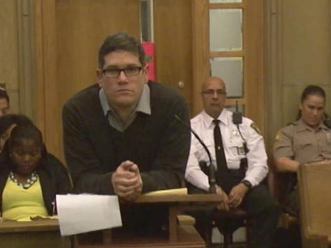 Guilty ... Michel Escoto, seen here during his trial.
