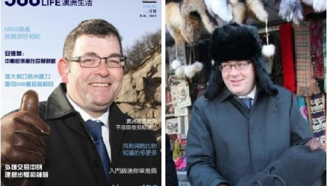 Dan Andrews's Chinese links raise concerns